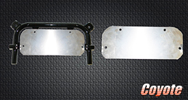 Coyote kart chassis parts