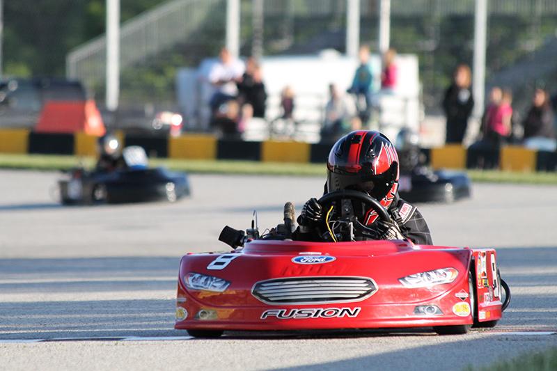 Payton Glodowski Coyote Racing Chassis