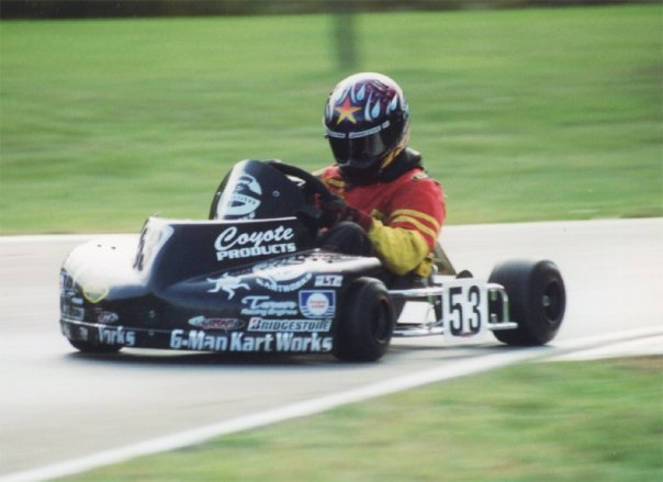 Racing with Coyote in the late 1990s