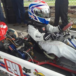 Lachlan Christie - Coyote Racing Chassis
