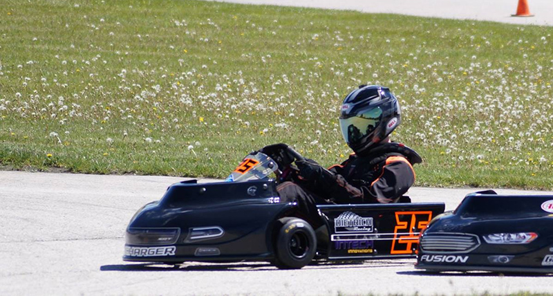 Coyote 206 Cup Junior racer Ethan Dietrich (Dietrich provided photo)