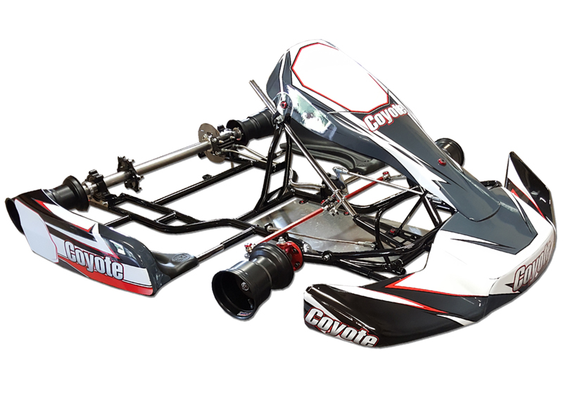 Coyote Karts Racing Chassis | CIK / LO206 Package