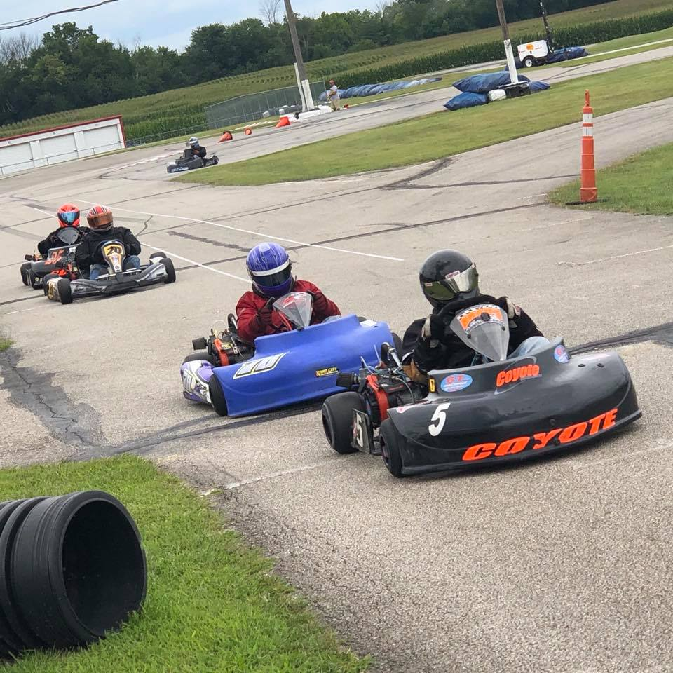 Tim Stiefel and his Coyote XP lead the Masters class at G&J (CKNA photo)