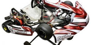 Coyote Combat LO206 kart racing chassis