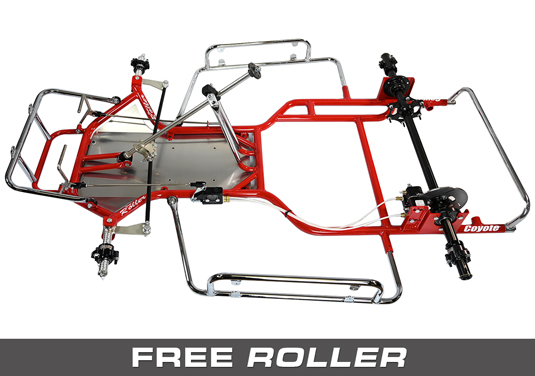 Coyote Free Roller Vintage Chassis